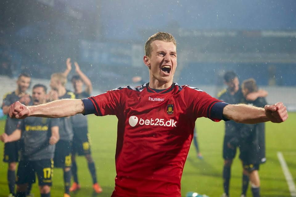 Hradecky tem qualidade a mais para a liga dinamarquesa Fonte: Facebook do Brondby