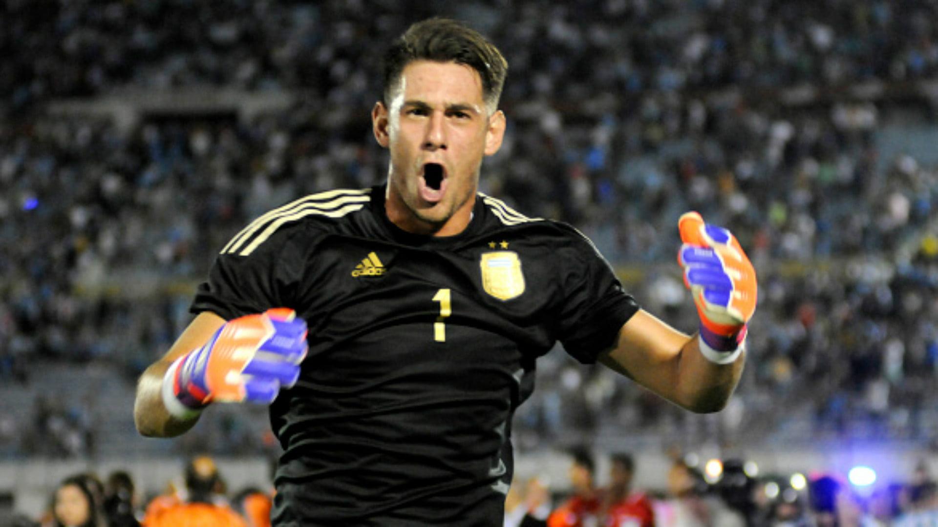 Augusto Batalla foi um dos líderes da selecção argentina de sub-20 Fonte: goal.com