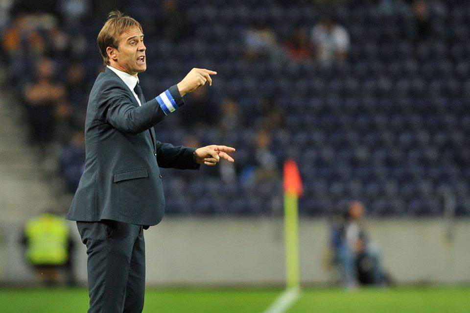 Lopetegui (na foto) é o treinador certo para o FC Porto. Fonte: Facebook Oficial FC Porto