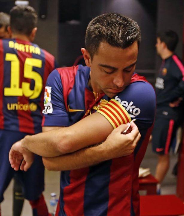 """O capitão disse um """"até já"""" ao clube do coração Fonte: Facebook do Barcelona"""