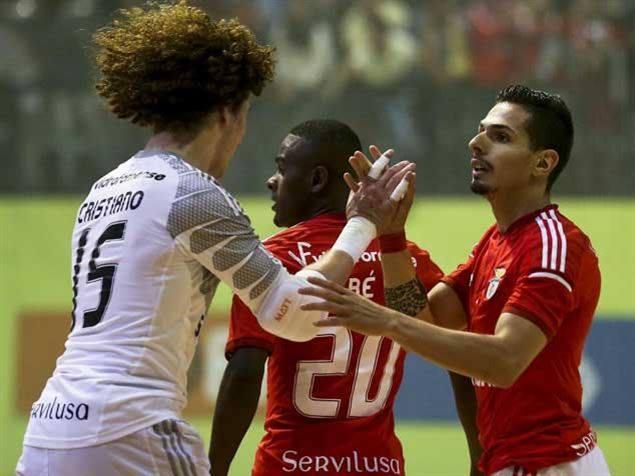 Cristiano foi uma das figuras da final Fonte: Facebook do Sport Lisboa e Benfica - Modalidades