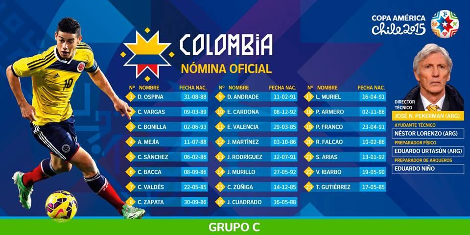 Fonte: Facebook da Copa América