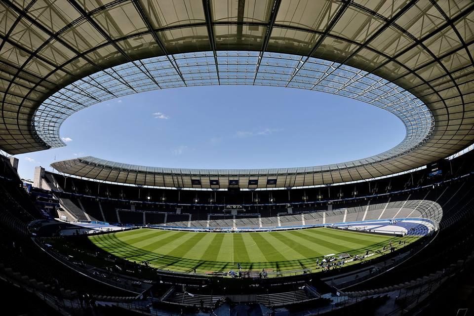 O palco onde se vai disputar o jogo do ano Fonte: Facebook da UEFA Champions League