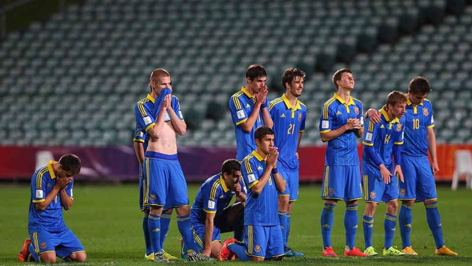 Os ucranianos caíram nas grandes penalidades frente ao Senegal Fonte: FIFA