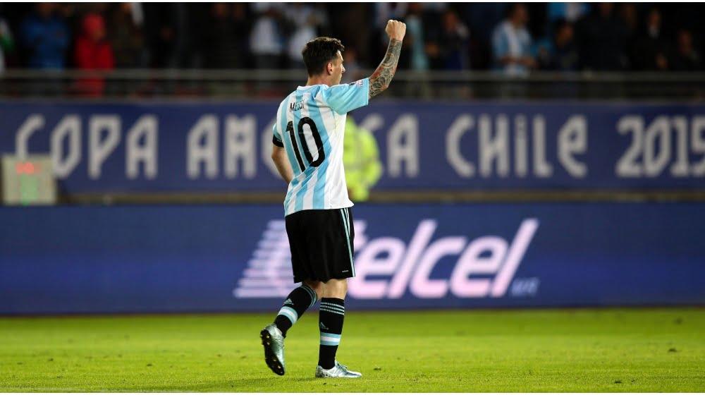 Messi foi sempre um quebra-cabeças para a Jamaica Fonte: tycsports.com