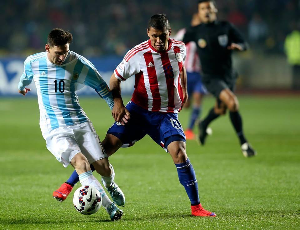 A jogar assim, a Bola de Ouro está mais do que entregue Fonte: Facebook da AFA - Selección Argentina
