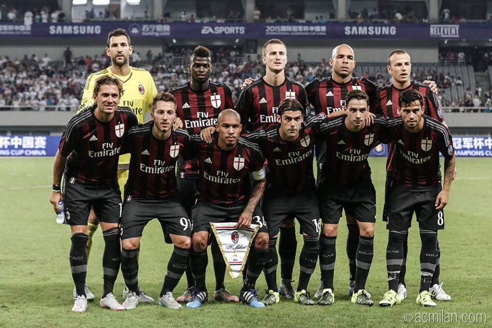 O novo Milan ainda tem muito que melhorar Fonte: Facebook do AC Milan