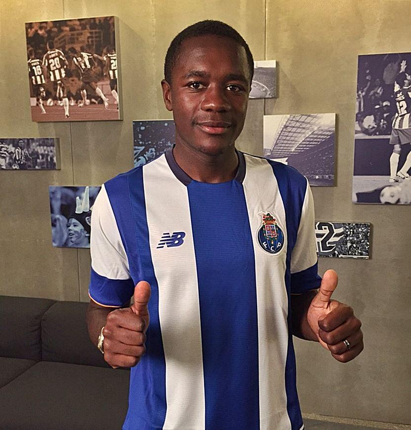 Imbula chega ao FC Porto depois de duas temporadas em alto nível no Marselha Fonte: Página do Facebook do FC Porto