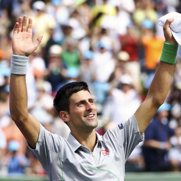 Será este o 5º masters do ano para Djokovic? Fonte: Facebook de Djokovic