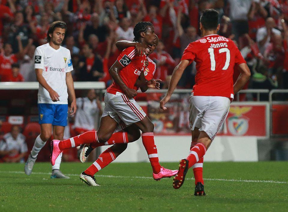 Que continues assim, miúdo! Fonte: Facebook do Benfica