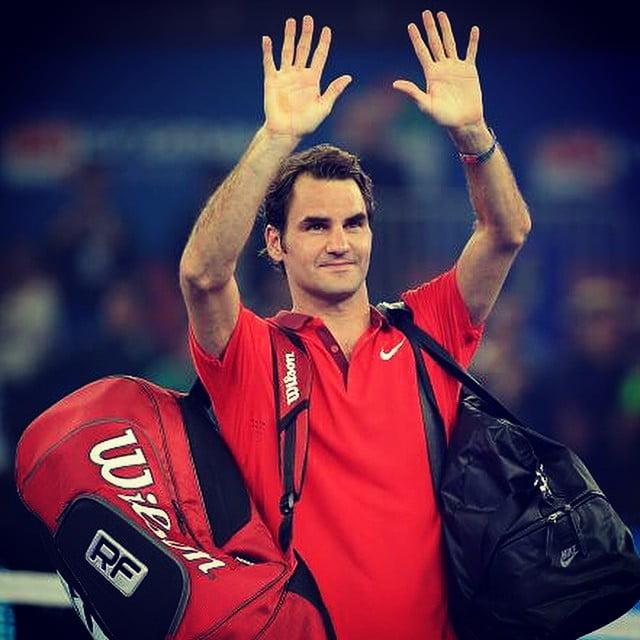 Federer alcança mais um Masters Fonte: Facebook de Roger Federer