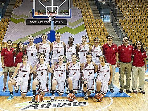 A equipa portuguesa que se deslocou à Eslovénia