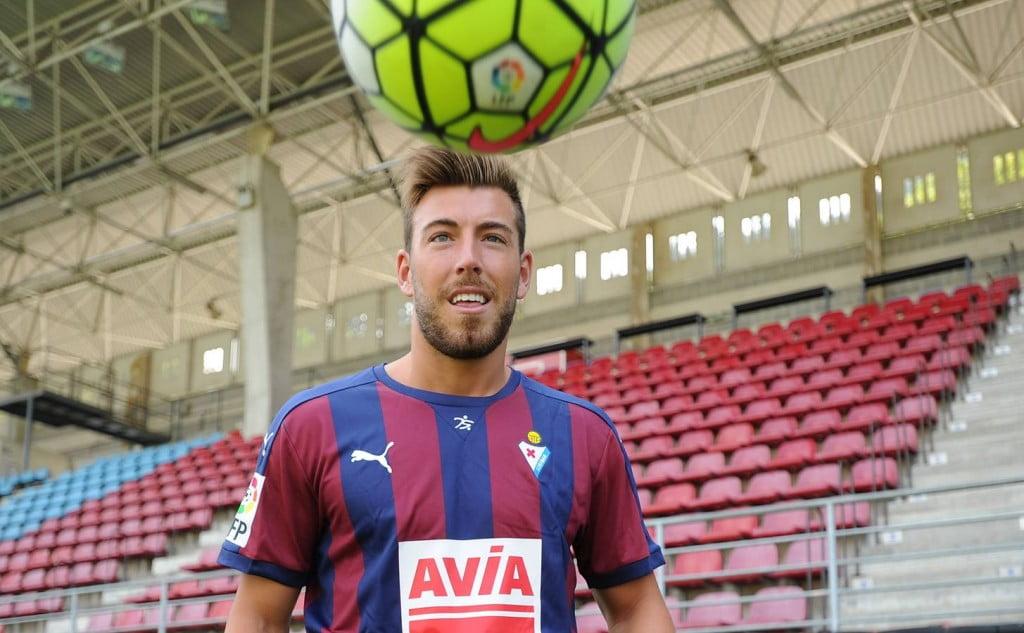 Sergi Enrich - Um dos nomes em destaque deste novo SD Eibar Fonte: diariovasco.com
