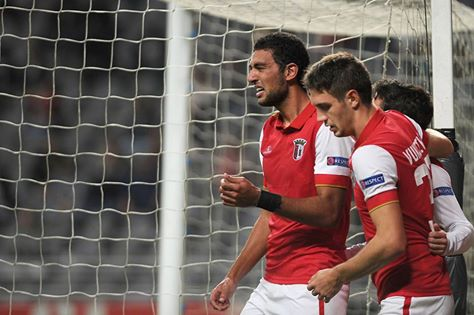 Momento emotivo para Hassan Fonte: Facebook do Sporting de Braga