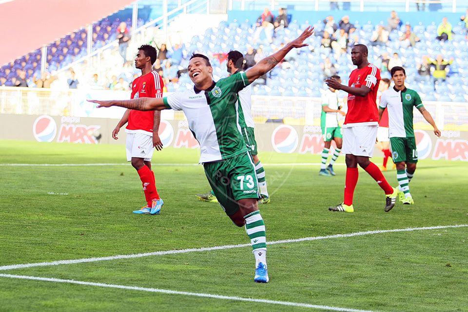 Matheus Pereira voltou a estar em grande Fonte: Facebook do Sporting