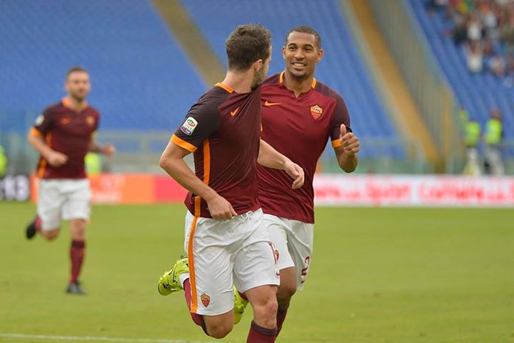 Pjanic marcou na goleada e relançou a Roma na perseguição aos líderes Fonte: Facebook A. S. Roma