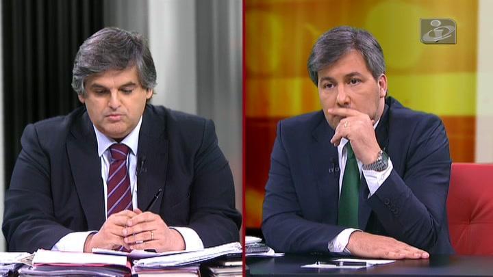 Bruno de Carvalho fez o que lhe competia e deixou Pedro Guerra sem argumentos Fonte: TVI