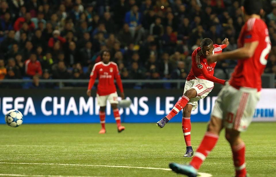 Talisca tarda em convencer Fonte: Sport Lisboa e Benfica