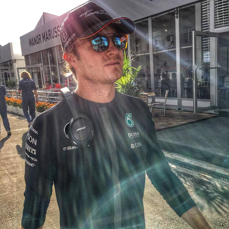 Nico Rosberg esteve em grande no México Fonte: Facebook Oficial de Nico Rosberg