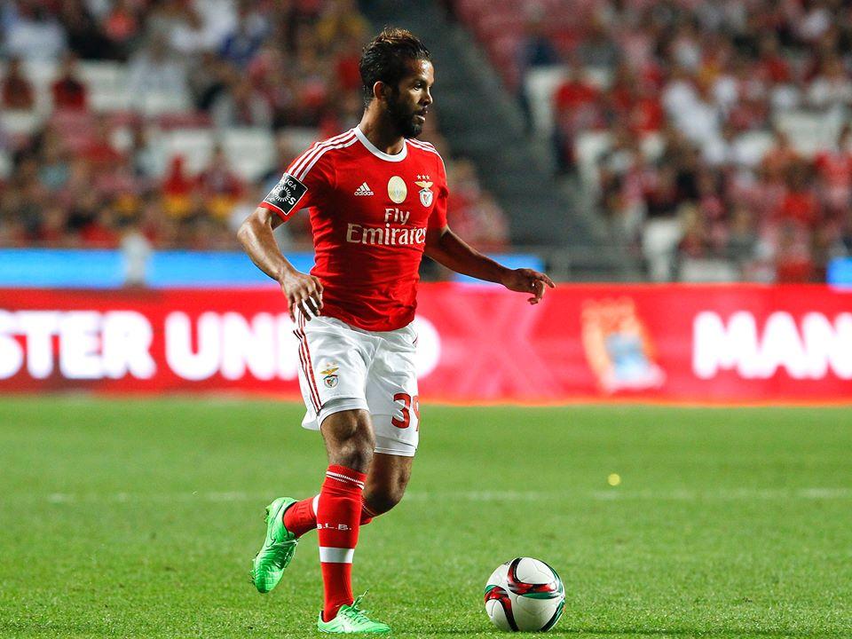 Carcela voltou a estar em bom plano Fonte: SL Benfica