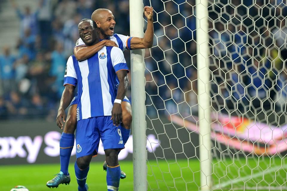 Aboubakar e Brahimi são duas das figuras do FC Porto Fonte: FC Porto