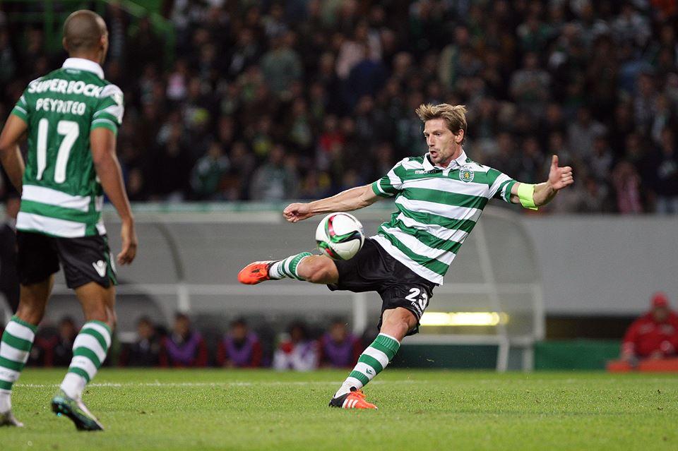 O capitão leonino deu o empate justo ao Sporting Fonte: Sporting CP