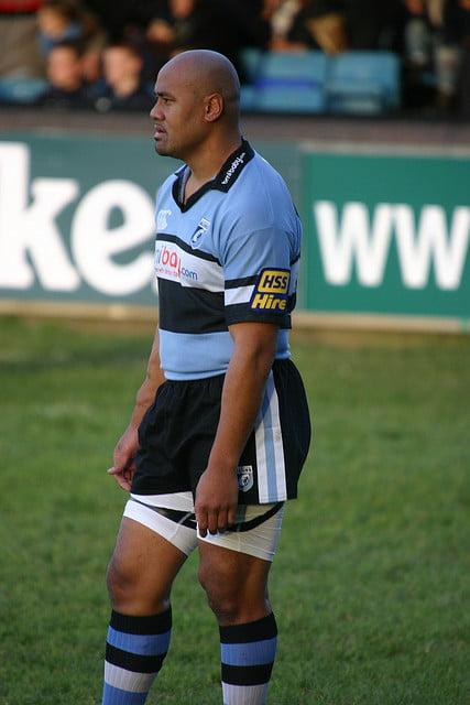 A garra e determinação com que encarava cada partida marcarão para sempre o rugby mundial Fonte: Phil