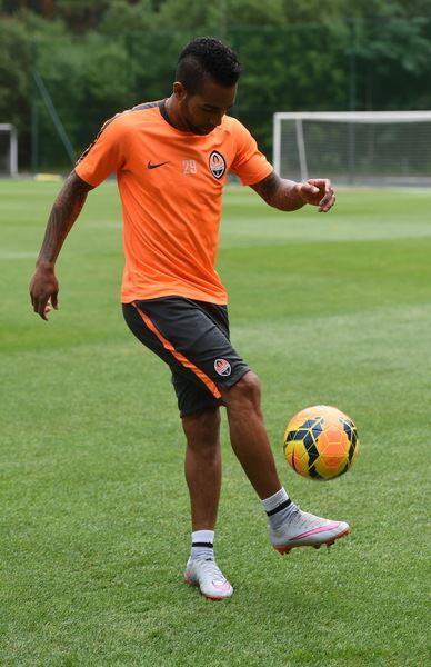 Alex Teixeira é uma das grandes figuras do FC Shakhtar Donetsk Fonte: FC Shakhtar Donetsk