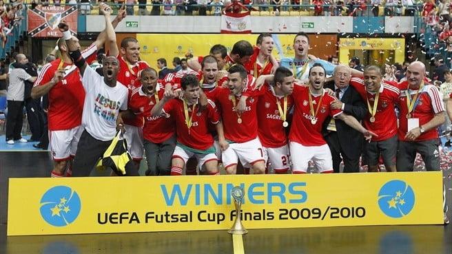 O SL Benfica é único vencedor português em 2009/2010. Irá a história repetir-se este ano? Fonte: UEFA
