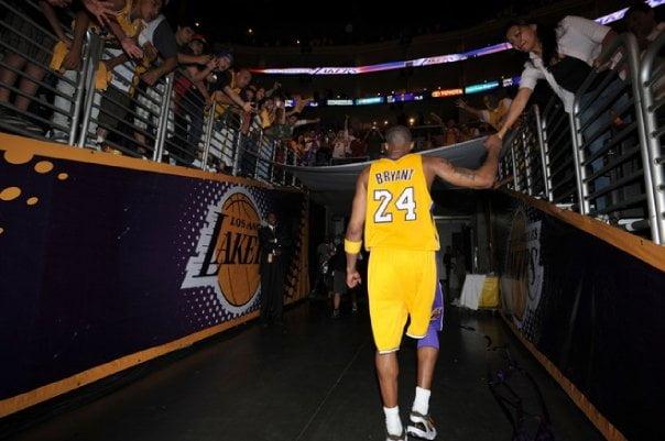 O final desta época marca o adeus de Kobe Fonte: NBA