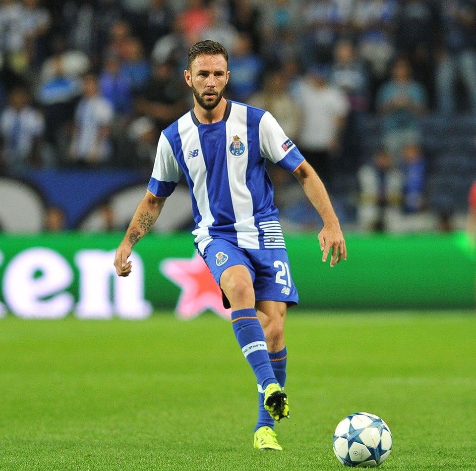 Miguel Layún foi o melhor em campo, com um golo e uma assistência. Fonte: FC Porto