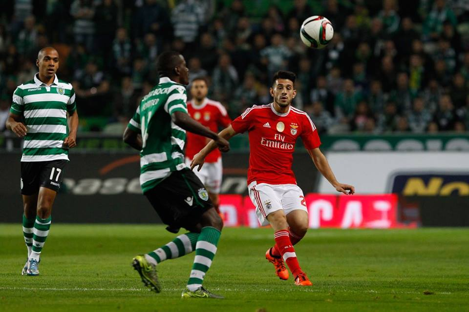 Pizzi foi uma das surpresas no onze de Rui Vitória Fonte: Sport Lisboa e Benfica