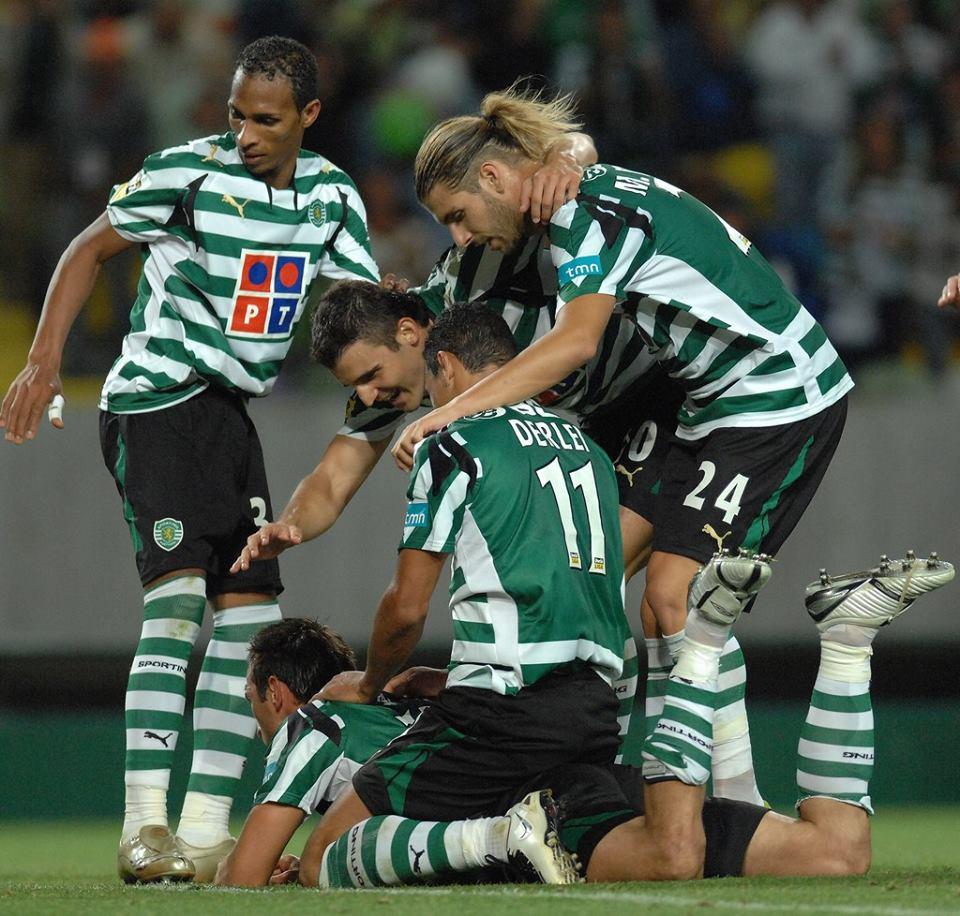 Sporting de luxo abateu Benfica em 2007/08 Fonte: piscssr.com