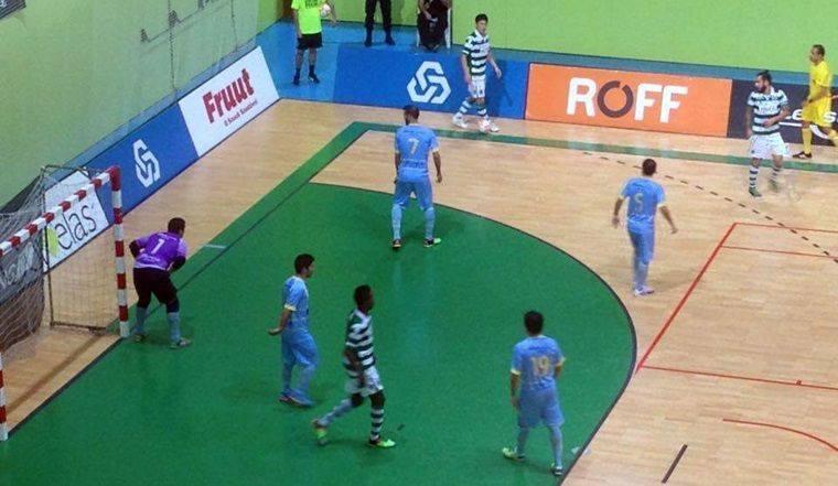 Triunfo leonino nunca esteve em causa Fonte: Futsal Global