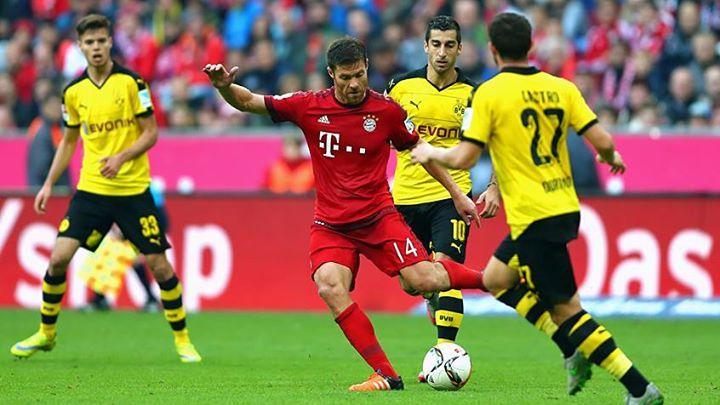 Guardiola viu em Xabi Alonso o maestro ideal para a sua orquestra bávara Fonte: FC Bayern Munique