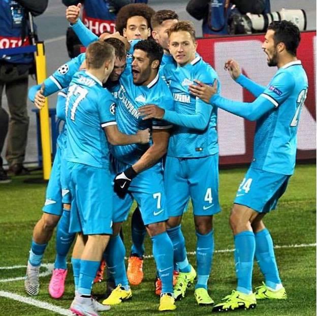 Hulk tem sido fundamental no ataque do FC Zenit Fonte: FC Zenit