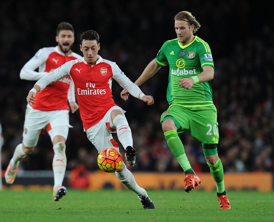 O alemão assume-se como uma pedra fulcral no jogo do Arsenal Fonte: Arsenal