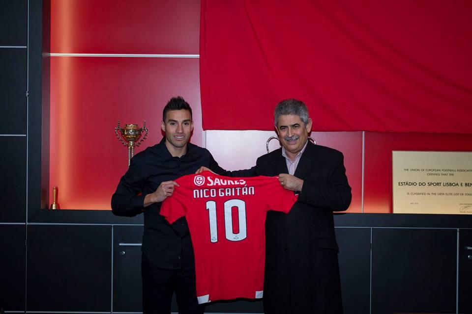 Nico até 2019 Fonte: Benfica