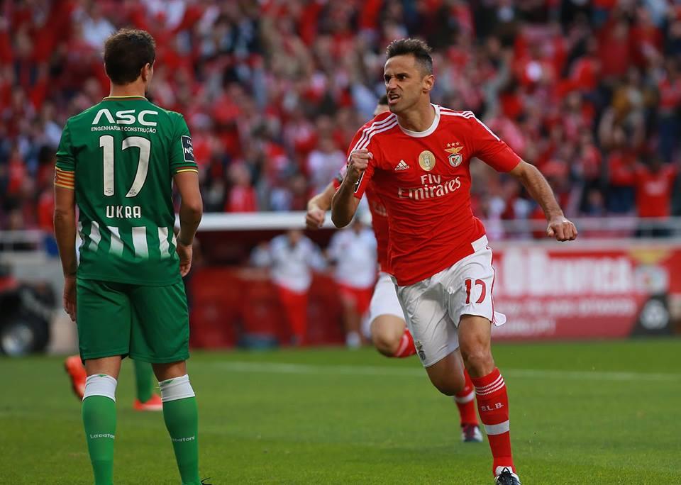 O talento de Jonas voltou a falar mais alto Fonte: Benfica