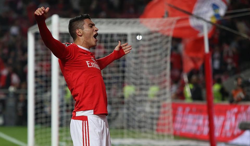 Jimenéz entrou e decidiu Fonte: SL Benfica