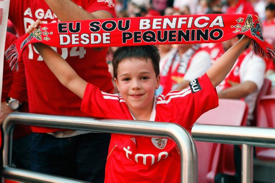 A mística incorpora-se desde pequenino Fonte: SL Benfica