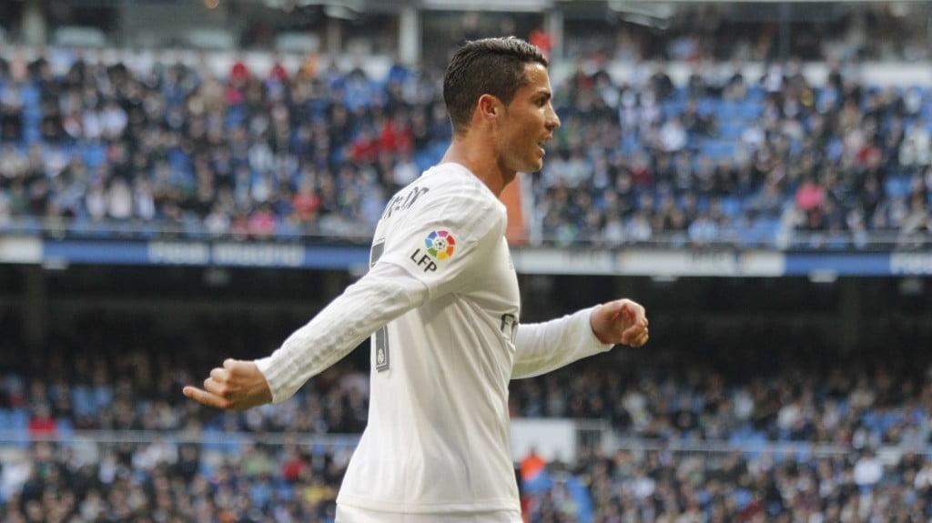 Cristiano Ronaldo apontou um dos golos dos merengues