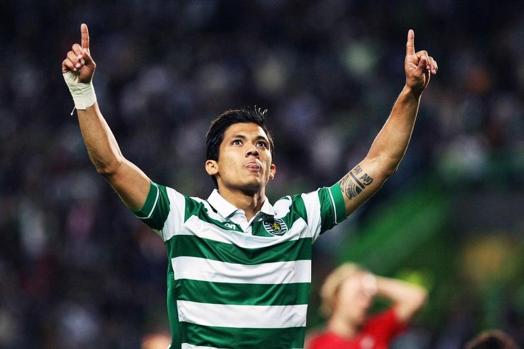 Mesmo não tendo feito um grande jogo, Fredy Montero foi quem mais se destacou Fonte: Sporting CP