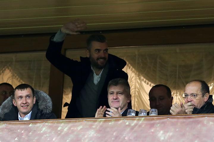Pletikosa aquando da sua recente visita a Rostov para assistir ao jogo entre a Rússia e a Croácia Fonte: vecernji.hr