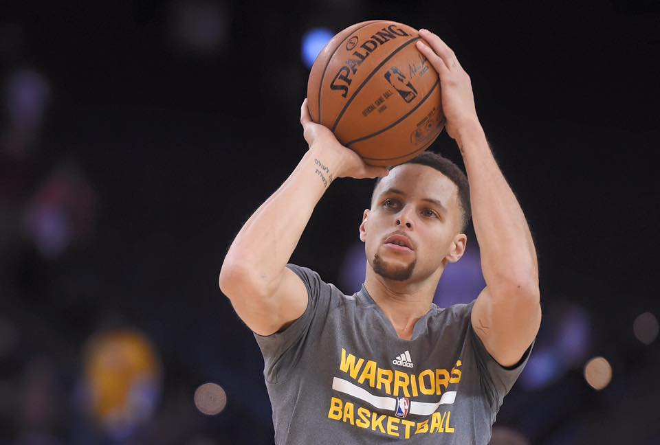 Stephen Curry e os Golden State Warriors brilharam em 2015 Fonte: Golden State Warriors