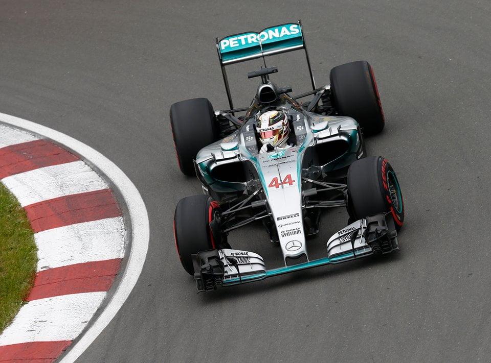 Lewis Hamilton e a Mercedes bateram toda a concorrência Fonte: Mercedes AMG Petronas