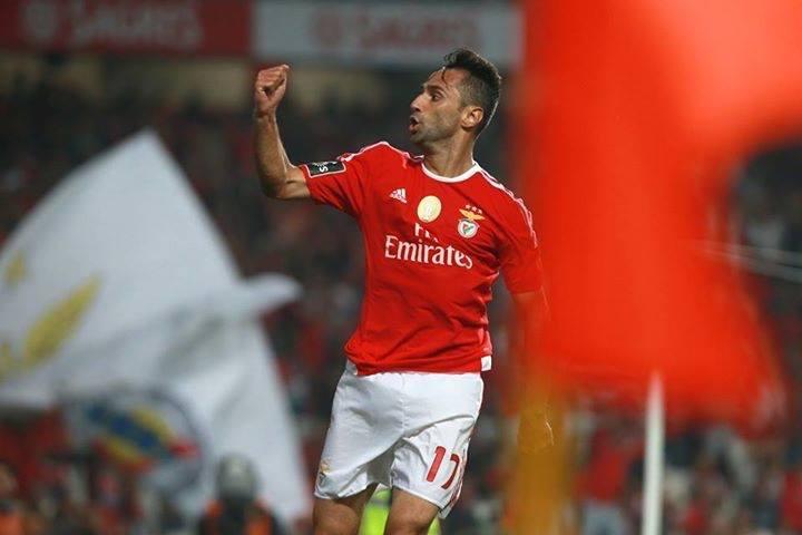 Jonas apontou o 11.º golo no campeonato; Fonte: Facebook de Jonas Gonçalves