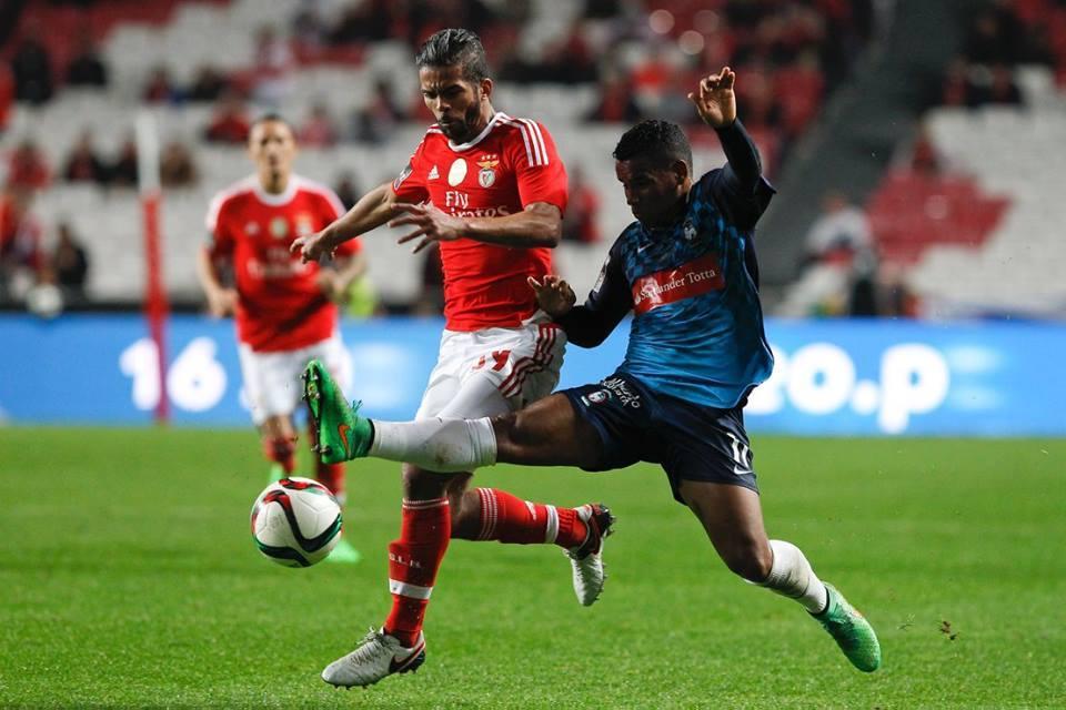 Carcela foi decisivo no arranque da goleada Fonte: SL Benfica