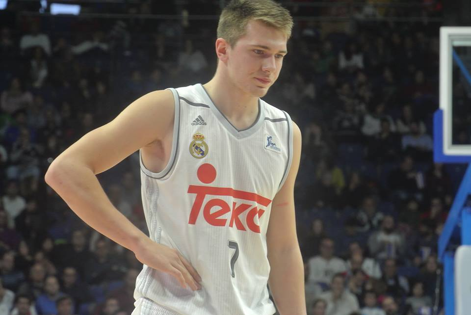 Luka Doncic, jovem promessa do Real