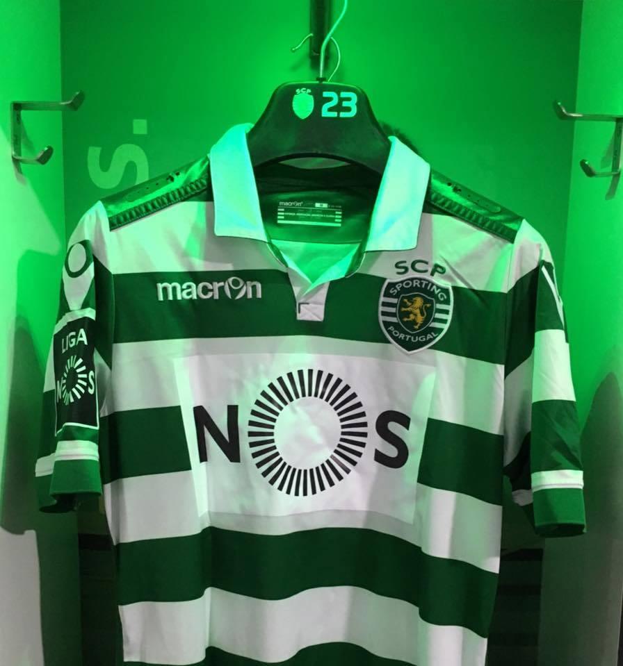 A NOS passou a estar representada nos equipamentos do Sporting CP Fonte: Sporting CP